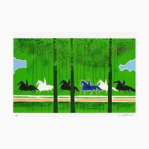 Horses and Riders 12 von Serge Lassus