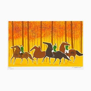 Horses and Riders 11 von Serge Lassus
