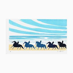 Horses and Riders 05 von Serge Lassus
