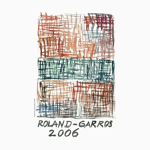 2006 Gunther Forg Posters by Roland-Garros