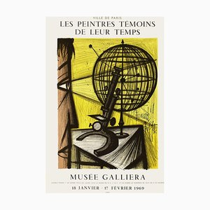 Póster Expo 69 Musée Galliéra de Bernard Buffet