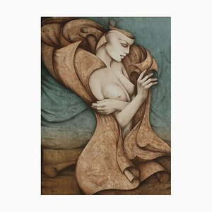 Draped Nude by Gérard Daran