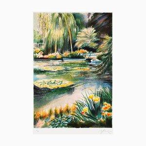 Giverny, Seerosen auf dem Teich von Rolf Rafflewski