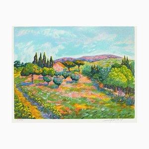 Landscape Luberon von Claude Chevalley