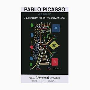 Expo 99 Galerie Raphael im Westen Poster von Pablo Picasso