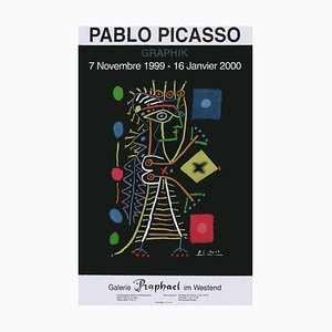 Expo 99 Galerie Raphael in the West Poster by Pablo Picasso