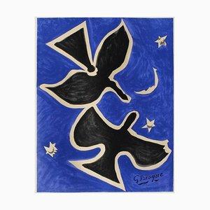 Expo 61 Musée Galliera Vor dem Brief von Georges Braque