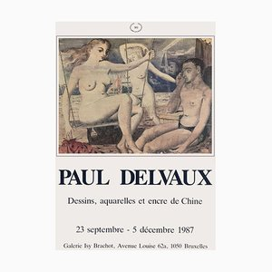 Expo 87 Galerie Brachot von Paul Delvaux