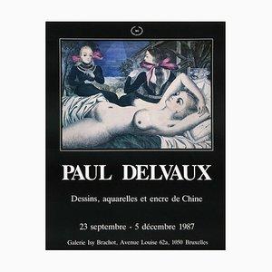 Expo 87 Galerie Brachot de Paul Delvaux