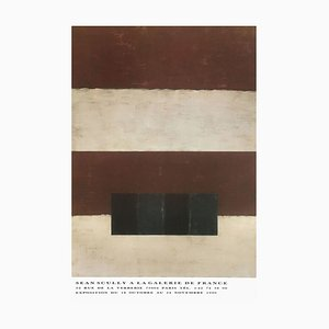 Expo 90 Galerie De France Paris Poster von Sean Scully
