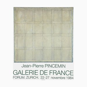 Expo 84 Galerie De France Forum Zürich by Jean Pierre Pincemin