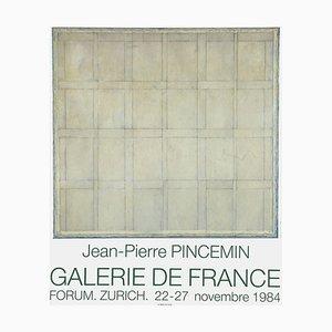 Expo 84 Galerie De France Forum Zürich de Jean Pierre Pincemin