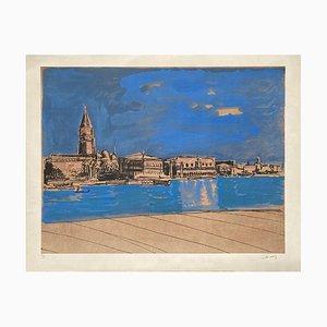Venice - The Grand Canal de J Lamy