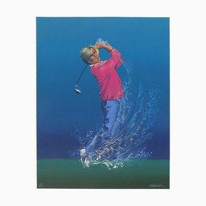 The Golfer par Jean-Pierre Couarraze