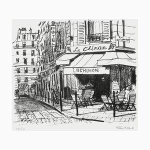 Paris - Café le Chinon rue de l'Arbre Sec par Shige
