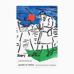 Expo 1984 - Galerie De France - Paris von Judy Rivka