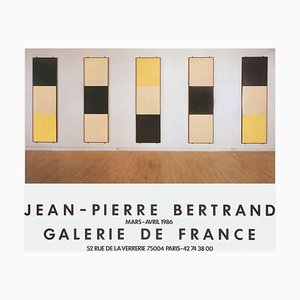 Expo 86 - Galerie De France von Jean-Pierre Bertrand