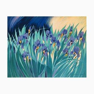 Les Iris by Claude Hemeret