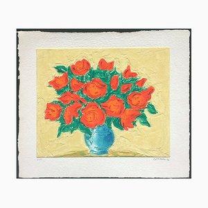 Bouquet de roses de André Cottavoz