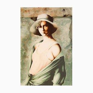 Femme au chapeau par Christophe