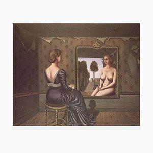 Le Miroir by Paul Delvaux