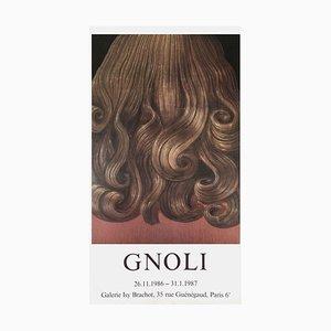 Cheveux Bouclés Rouges par Domenico Gnoli, 1969