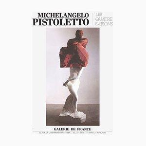 Expo 85 - Galerie De France von Michelangelo Pistoletto