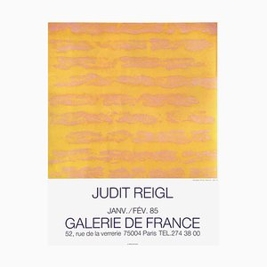 Expo 85 - Galerie De France von Judit Reigl