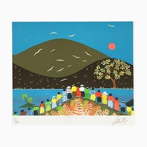 La montagne est belle par Francis Latreille