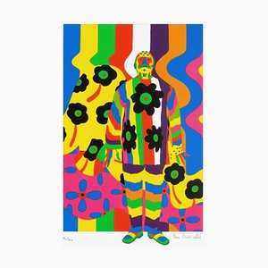 Peinture Homme par Pierre Pinoncelli