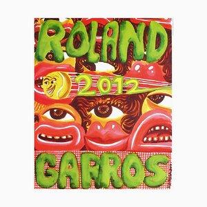 Hervé Di Rosa Poster von Roland-Garros, 2012