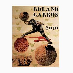 Nalini Malini Poster von Roland-Garros, 2010