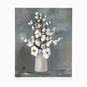 Ramo de flores blancas de Franz Schlitz