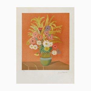 Jarrón de flores de Jean Kwiatkowski