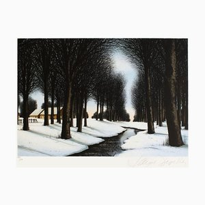 Snow Under the Trees by Jacques Deperthes