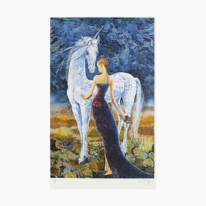 The Lady and the Unicorn by Pierre Le Colas