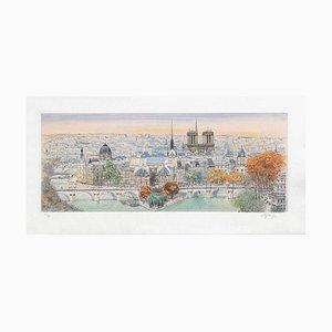 Paris - Panorama Eastwards II by Rolf Rafflewski