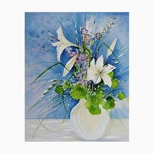 Bouquet de Fleurs Field I par Gilbert Michaud