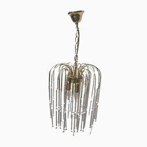 Lámpara de araña vintage de Paolo Venini para Eurolux