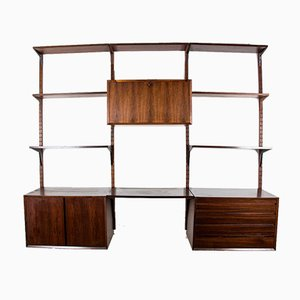 Very Large Danish Modular Rio Rosewood Shelf by Poul Cadovius, 1960s