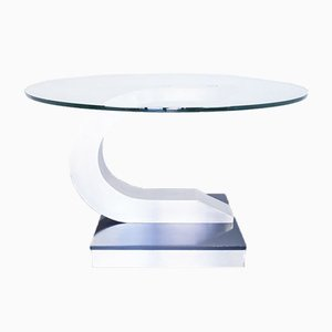 Vintage Dining Table by Willy Rizzo for Mario Sabot, 1970s