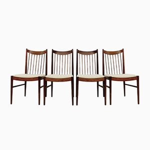 Danish Rosewood Dining Chairs by Arne Vodder for Sibast Mobelfabrik, 1964, Set of 4