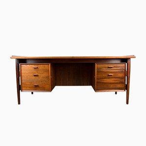 Danish Rio Rosewood Model 206 Executive Desk by Arne Vodder for Sibast, 1960s
