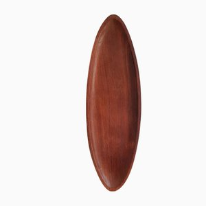 Mid-Century Brazilian Elongated Jacaranda Wood Centerpiece / Bowl by Jac-Arte