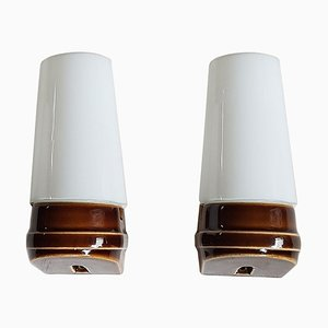 Wall Lamps by Sigvard Bernadotte for IFÖ Electric, 1960s, Set of 2