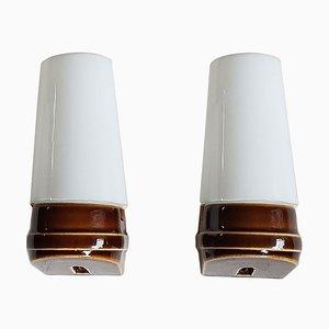 Wandlampen von Sigvard Bernadotte für IFÖ Electric, 1960er, 2er Set