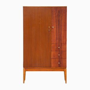 Vintage Scandinavian Cabinet in Teak and Rosewood