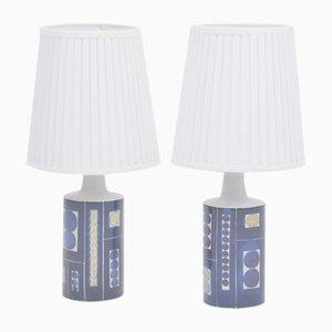 Lampes de Bureau Royal 9 Tenera par Inge-Lise Koefoed pour Fog & Morup, 1967, Set de 2