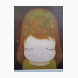 Yoshitomo Nara, Original Limited Edition Print, Giclée Offset Lithograph on Paper