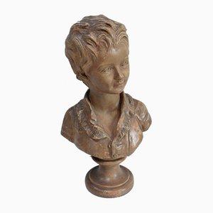 Busto de Alexandre Brongniart en terracota de JA Houdon